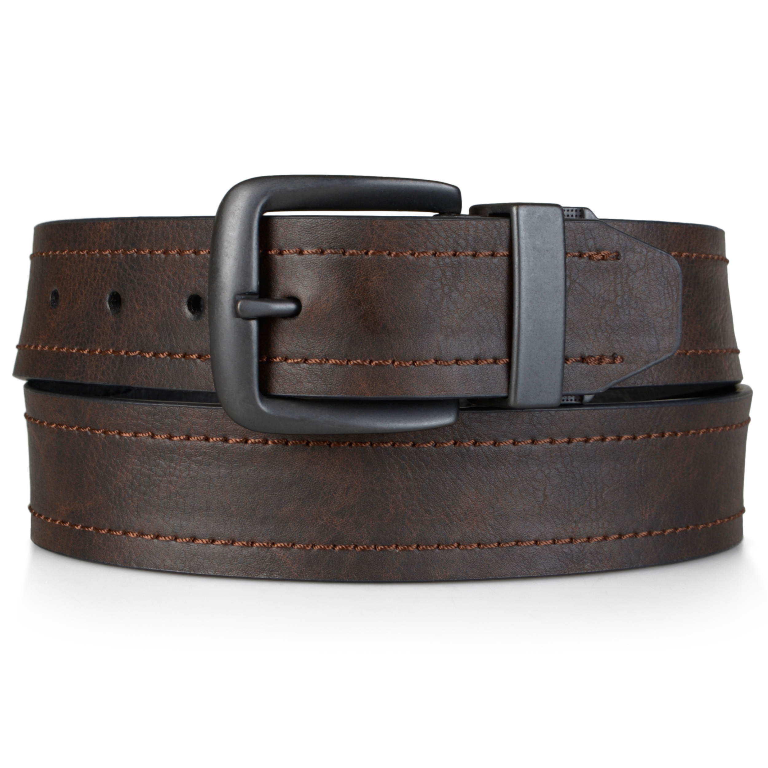 dickies mens reversible genuine leather belt ebay