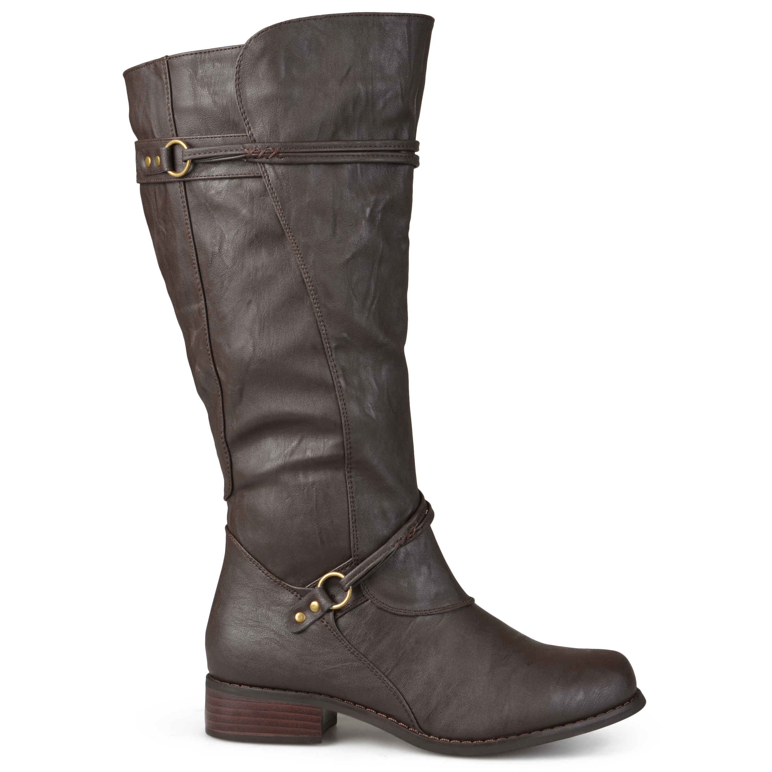Journee Collection Womens Wide and Extra Wide-Calf Ankle ...