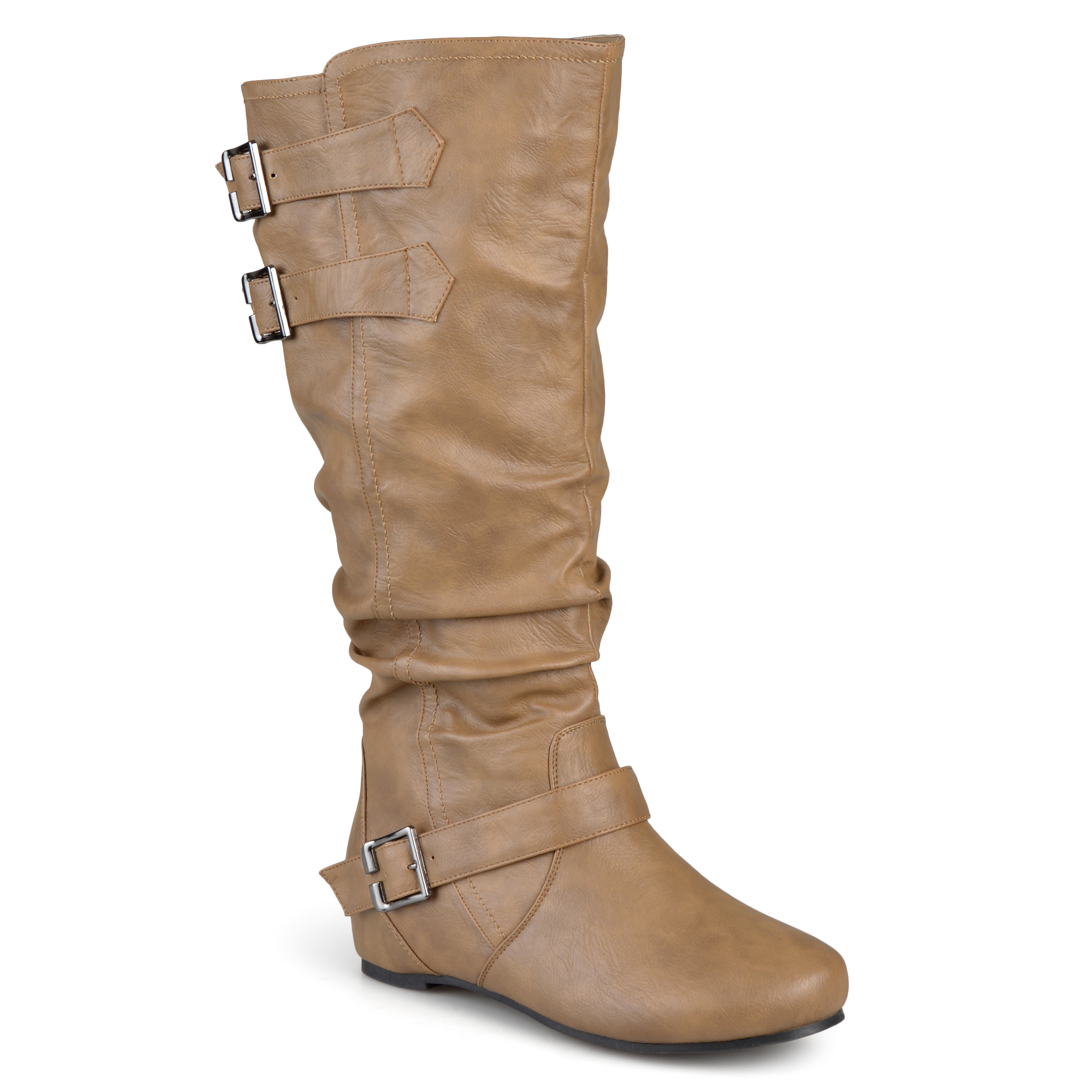 journee collection womens wide and wide calf slouch