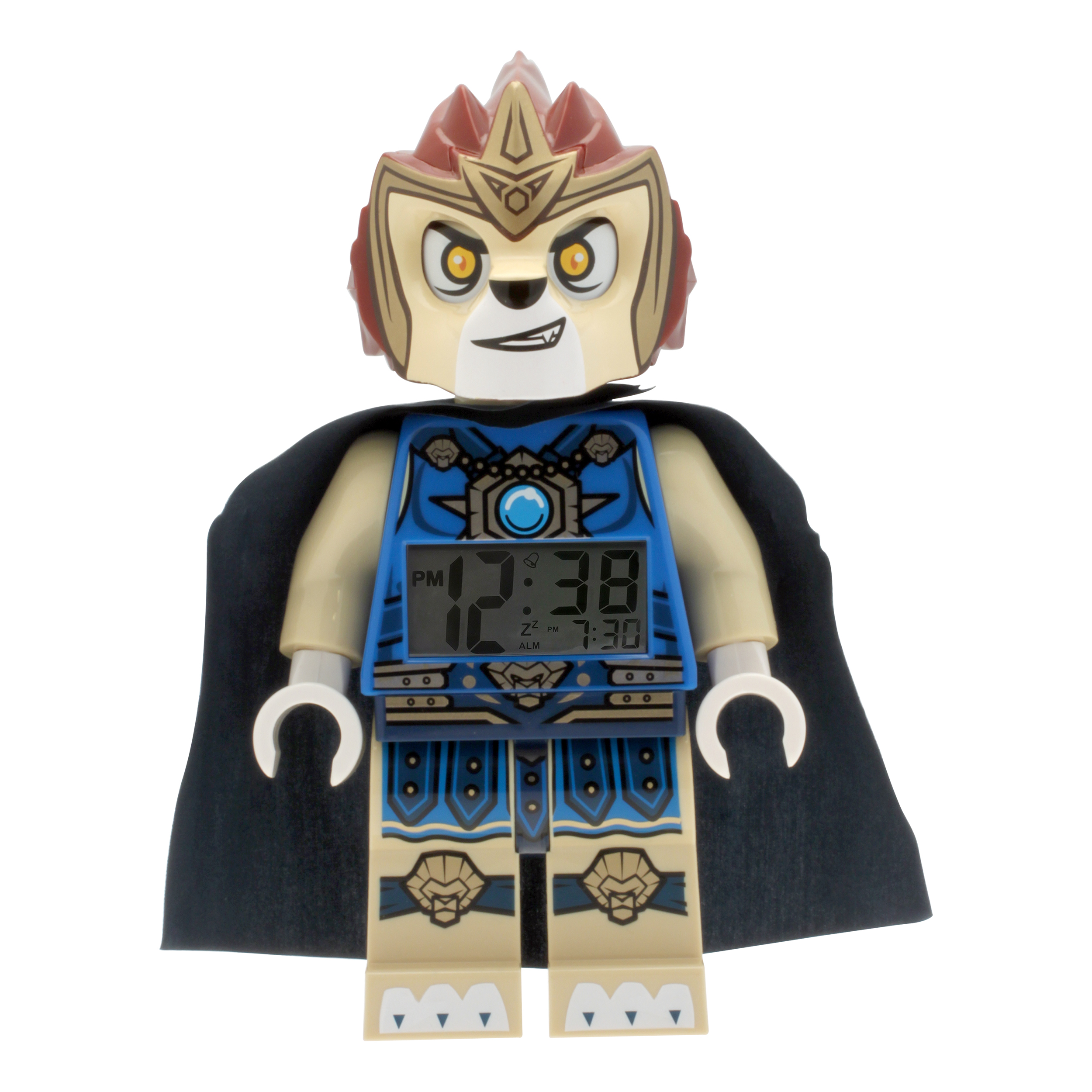 LEGO Chima Laval Kid's Moveable Minifigure Alarm Clock | eBay